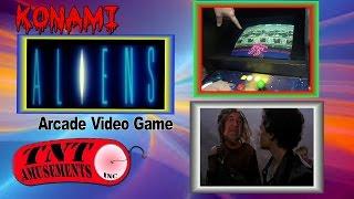 #1124 Konami ALIENS Arcade Video Game, MEGATOUCH JADE & AREA 51-MAXIMUM FORCE-TNT Amusements