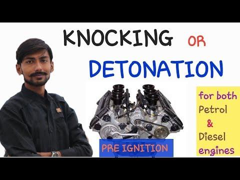 [HINDI] KNOCKING ~ DETONATION ~ PRE IGNITION~EXPLAINED FOR BOTH PETROL {S.I} & DIESEL ENGINES {C.I}