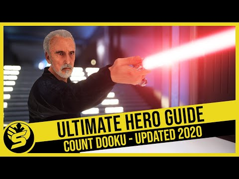 COUNT DOOKU - Updated Hero Guide (2020) - STAR WARS Battlefront 2