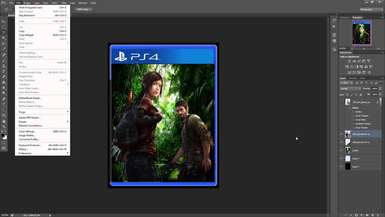 the last of us ps4 custom cover by bloodpalahd youtube