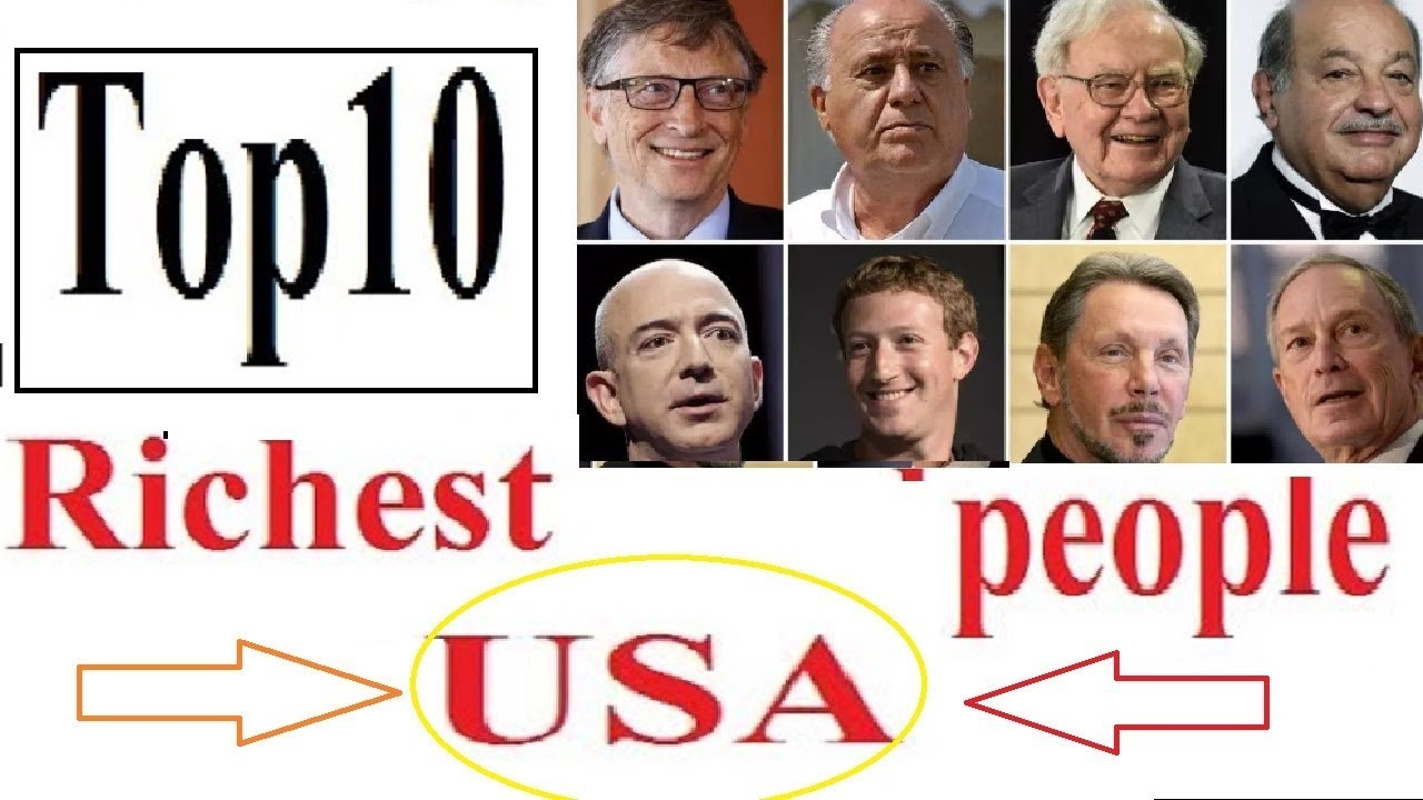 Top 10 richest people in USA   List of Top 10 American