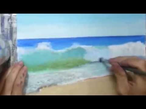 comment peindre la mer 2 sur 5 videos doovi. Black Bedroom Furniture Sets. Home Design Ideas