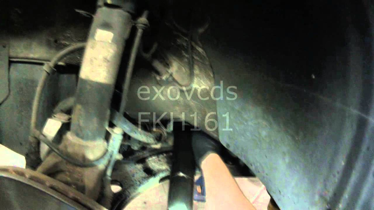 Vw A4 New Beetle Inner Outer Tie Rod Removing Installing Youtube Front Suspension Diagram On Volkswagen Engine