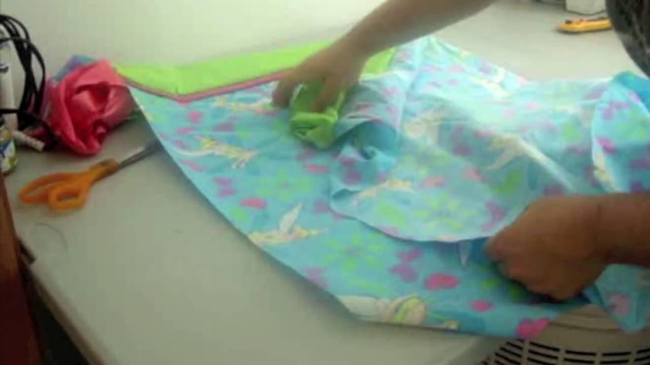 C mo coser una funda para almohada parte 2 la receta de la abuelita youtube - Como coser cortinas paso a paso ...