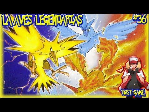 POKEMON AMARILLO #36 voy por ustedes AVES LEGENDARIAS de KANTO!!!! (post game)