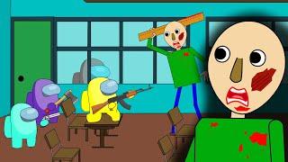 AMONG US SCHOOL  BALDI'S BASICS Impostor