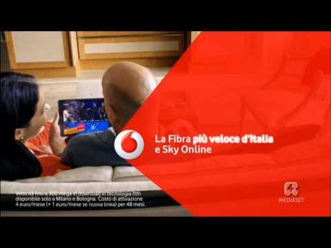 Vodafone Italy Fibre Broadband, Sky Online, Power to Bruce August 2015