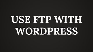 How to use FTP to upload files to WordPress for-Beginners