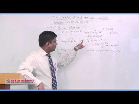 Carboxylic acid and its Derivatives Part 1 - IIT JEE Main & Advanced Chemistry Video Lecture