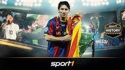 15 Jahre Messi: Lebenslinien eines Genies | SPORT1 - HISTORY