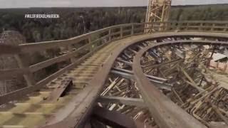 kolmarden wildfire 1st pov rmc wooden roller coaster sweden 2016 rocky mountain construction