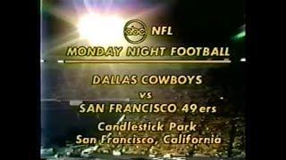 1977-12-12 Dallas Cowboys vs San Francisco 49ers