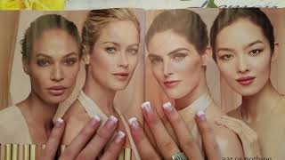 ASMR *NO TALKING* Slow Magazine Tracing and Page Turning with Long Nails. PART 1