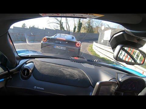 McLaren Senna + Ferrari 488 Pista Nürburgring Easter Lap