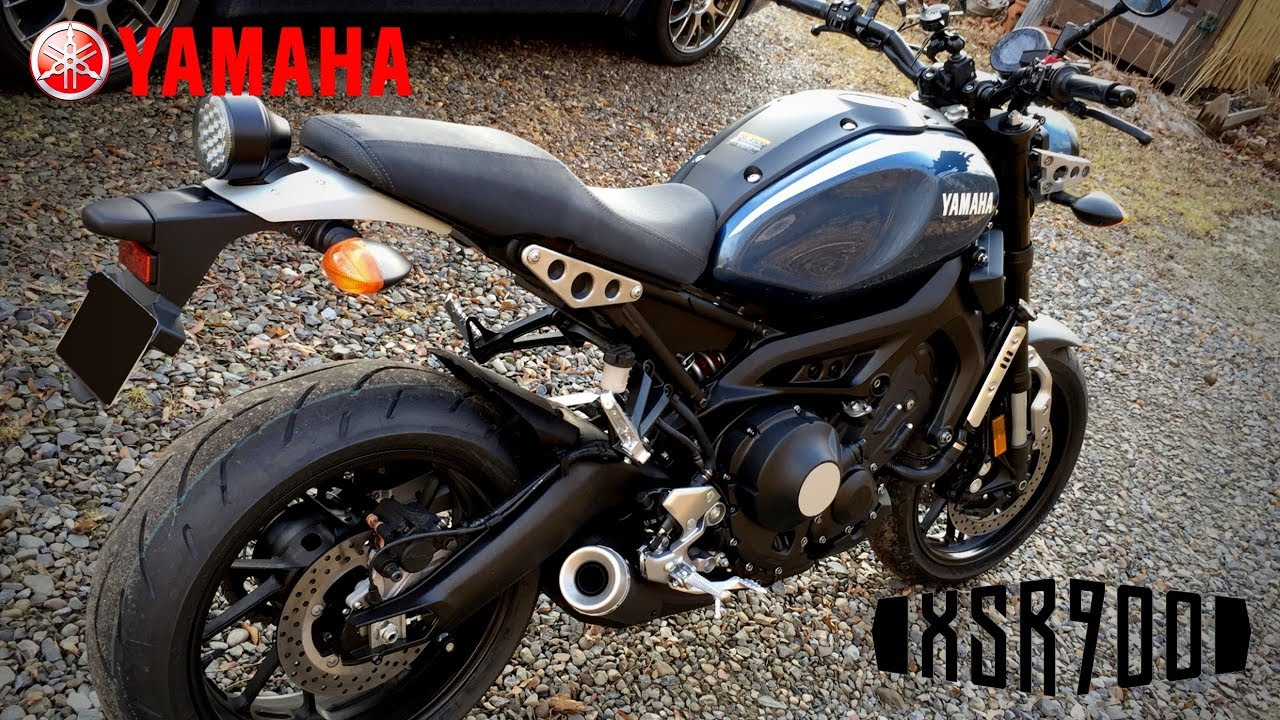 Yamaha XSR900 Top Speed - YouTube