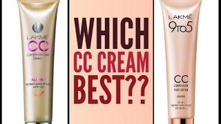 Lakme Cc Cream Review | Lakme 9To5 CC cream