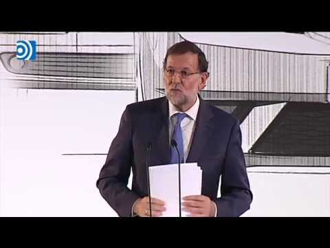 Rajoy no ve riesgos en la economía española y sí en la política