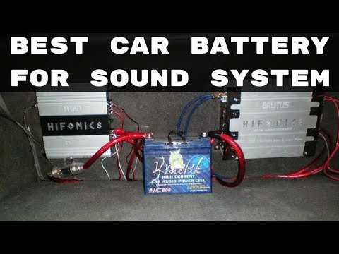 Best Car Battery for Sound System - Top Car Audio Batteries