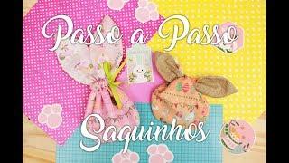 Especial de Páscoa – Saquinhos (com Moldes)