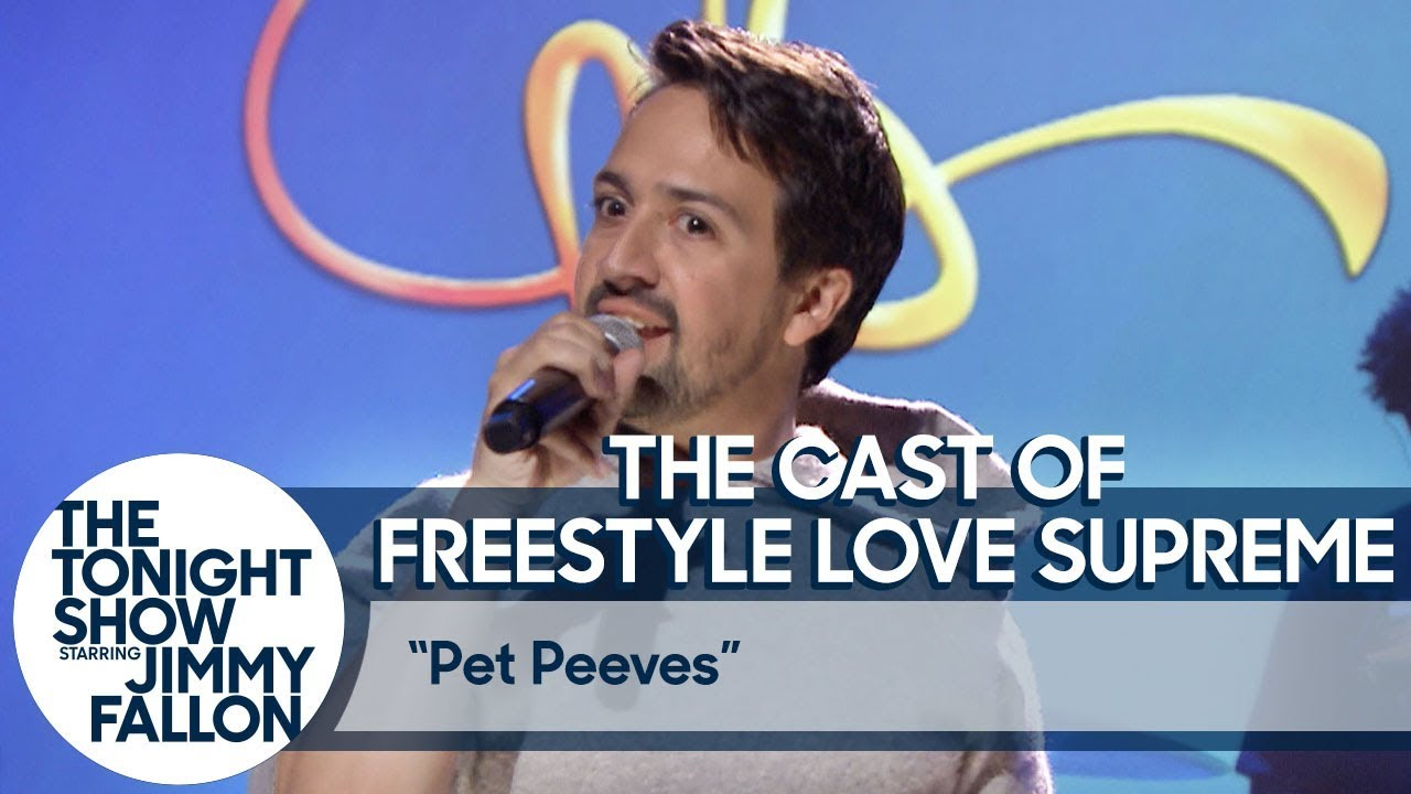 A Performance from Freestyle Love Supreme:Tonight Show Pet Peeves