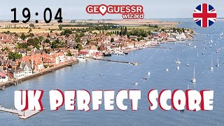 Perfect score on Geoguessr (UK Version) in 19:04 - Round 3, you're kidding me.