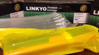 LINKYO Replacement HP 131A 4CLR Cartridge Set