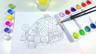 어린이 미술 놀이 공예품을 이용한 활동적인 색칠과 각종…