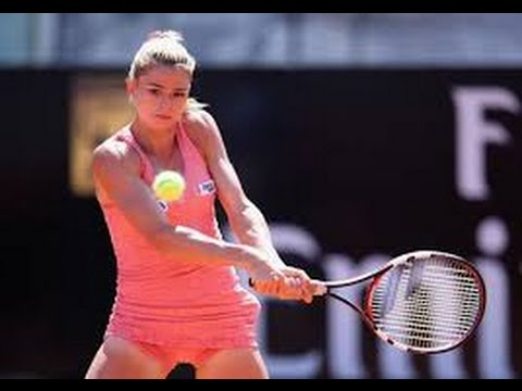 Maria Sharapova vs Camila Giorgi Match Highlights