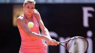 Maria Sharapova vs Camila Giorgi Match Highlights