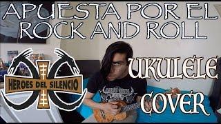apuesta por el rock and roll hroes del silencio ukulele cover erick motta