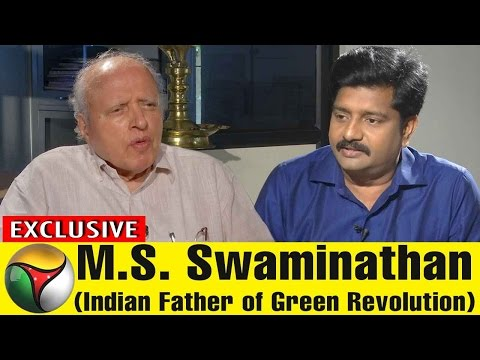 Exclusive Interview With M.S. Swaminathan (Green Revolution Father of India) | 04/05/2017