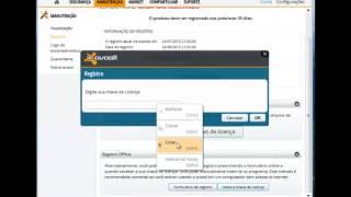 Configurando e instalando o Avast! com o serial até 2038