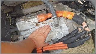 видео: Мотор Nissan Leaf на полном форсаже в Peugeot Expert