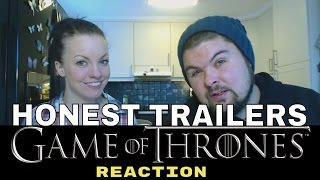 Honest Trailers Game of Thrones REACTION!