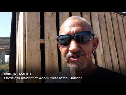 Homeless in Oakland talk about their plight and offer solutions