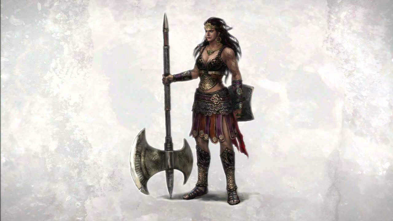 """Warriors Legends of Troy - 11. """"Penethesilea the Amazon ..."""