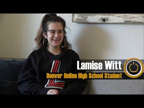 Denver Online High School Student Highlight Lamise Witt