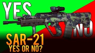 Yes or No - SAR-21 Assault Rifle Review - Battlefield 4 (BF4)