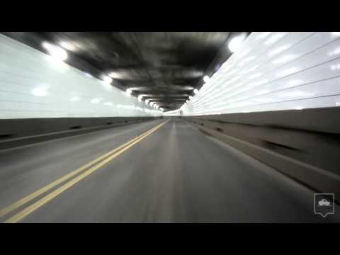 Through the Detroit-Windsor Tunnel (HD)