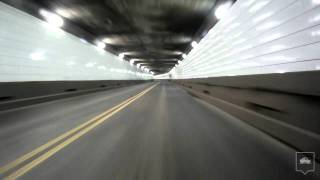 Through the Detroit-Windsor Tunnel (HD)