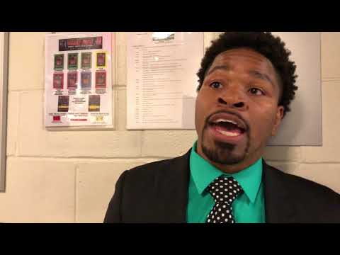 SHAWN PORTER MAKES IT CLEAR HE IS NOT DUCKING ERROL SPENCE