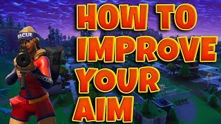 ✔️BEST WAY TO IMPROVE YOUR AIM IN FORTNITE FOR PC, PS4 AND XBOX | BEST TRACKING AIM DRILL