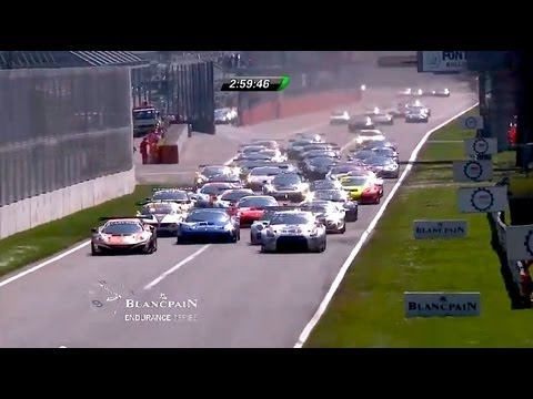 Blancpain Endurance Series - Round 1 - Monza - Highlights -2013