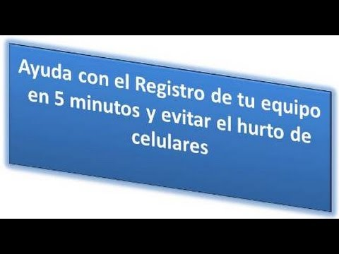 a99948afb26 Cómo registrar el IMEI en Movistar desde tu celular y evita bloqueo de tu  equipo