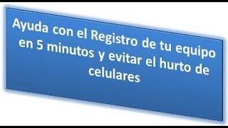 Cómo registrar el IMEI en Movistar desde tu celular  y evita bloqueo de tu equipo