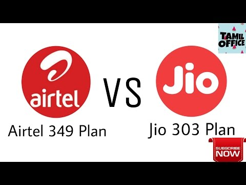 Airtel 349 Plan VS Jio 303 Plan |My Choice|Tamil Office