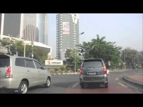 Downtown Jakarta Drive (Jalan Sudirman/Thamrin - Kota)