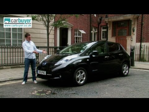 Nissan Leaf hatchback review – CarBuyer