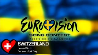 Jesse Ritch - Forever & A Day (Eurovision 2013 Switzerland)