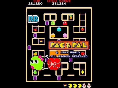 1983 [60fps] Pac & Pal Loop1